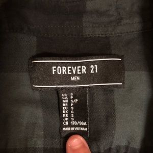 Men's forever 21 Button Down